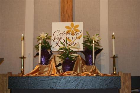 easter  altar easter flower arrangements easter