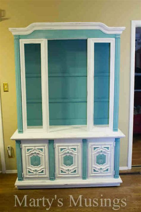 Painted Hutch Ideas - 20 awesome chalk paint furniture ideas diy ready