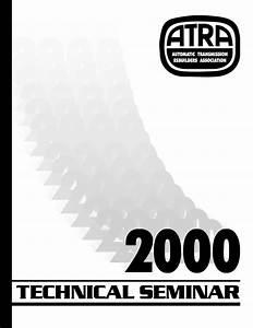 2000 Atra Seminar Manual Contents  U2013 Pdf Download