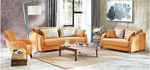 Sofa Sessel Kombination : gem tliches wohnzimmer gestalten 30 coole ideen ~ Michelbontemps.com Haus und Dekorationen