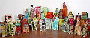 BARBARA GILHOOLY : POP UP CUT OUTS : Pop Up City