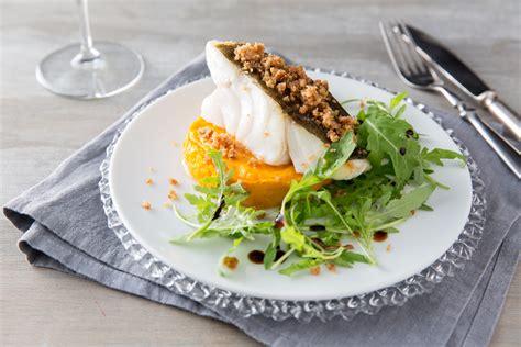 cours de cuisine avec un chef étoilé recette de cabillaud pané et ses carottes