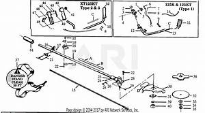 Poulan Xt125kt Gas Trimmer Parts Diagram For Cutting Head  U0026 Shroud Assemblies