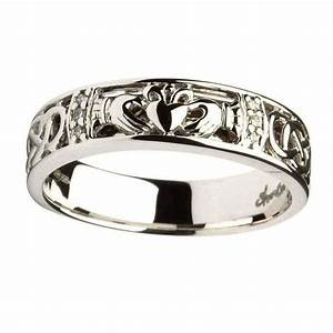 rings ladies claddagh celtic knot diamond set wedding With womens claddagh wedding ring