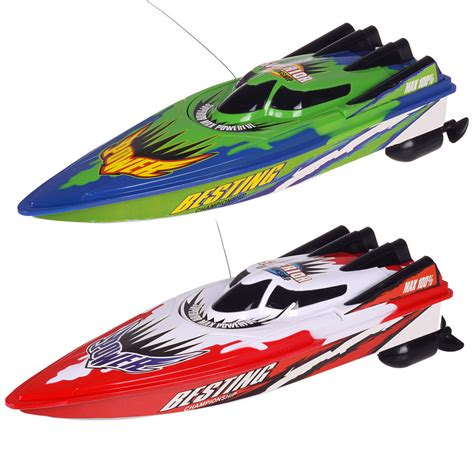Remote Speed Boats by New Radio Remote Motor Speed Boat Rc Racing