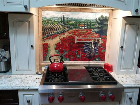 mural tiles for kitchen 17 best ideas about tile murals on mexican 3415