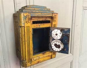 Boite Colis Poste Dimensions : ancienne boite aux lettres picard sauerbach vers 1939 ~ Nature-et-papiers.com Idées de Décoration