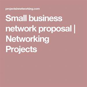 Small Business Network Proposal