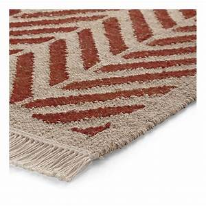 tapis ethno rouge esprit home 80x150 With esprit home tapis