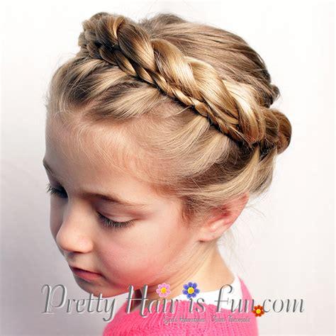 pretty hair  fun   princess crown braid tutorial