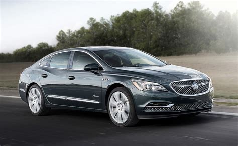 2018 buick lacrosse avenir to start at 45 795