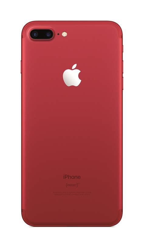 Apple Introduces Iphone 7 & Iphone 7 Plus (product)red