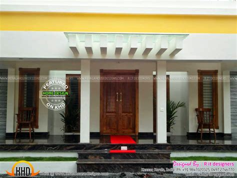 finished house floor plan  interiors kerala home design  floor plans