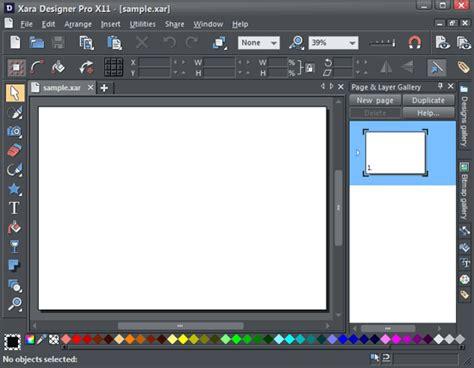 xara designer pro xara designer pro x11 indezine review
