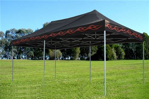 black flame pop  tent canopy gazebo