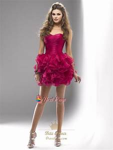 Short Hot Pink Cocktail Dress,Fuchsia Short Prom Dresses ...