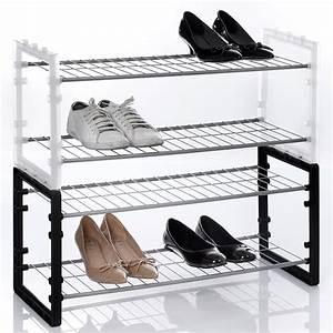 Rangement Chaussures Pas Cher : range chaussures empilable maison fut e ~ Farleysfitness.com Idées de Décoration