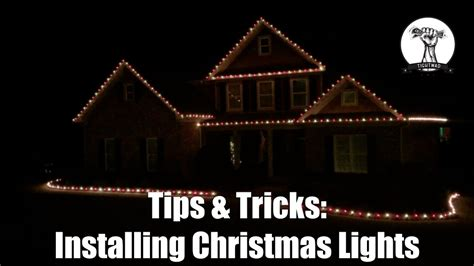 how to put christmas lights on roof installing christmas lights on your roof line and house