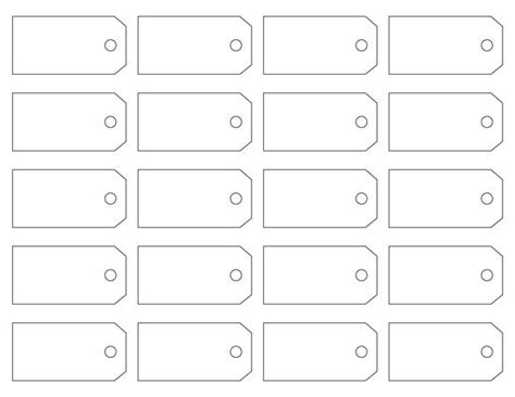 Tag Template Printable Hang Tags Templates Printable 360 Degree