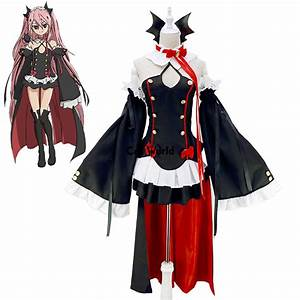 Aliexpress.com  Buy Owari no Seraph Of The End Krul Tepes Vampire Uniform Dress Outfit Anime ...