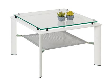 table basse en verre carree ezooq