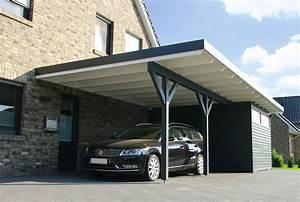 Garage Mit Carport : flachdachcarport aus holz online konfigurieren und bestellen ~ Orissabook.com Haus und Dekorationen