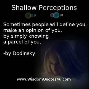 Quotes About Shallow Minded People. QuotesGram