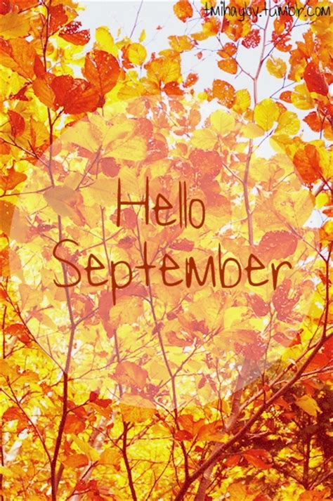 September Images Welcome September Daydreaming Photo 32023992 Fanpop
