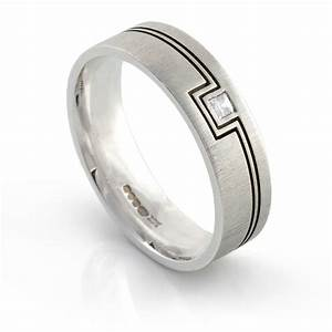 23 marvelous men diamond wedding rings navokalcom With guy wedding rings