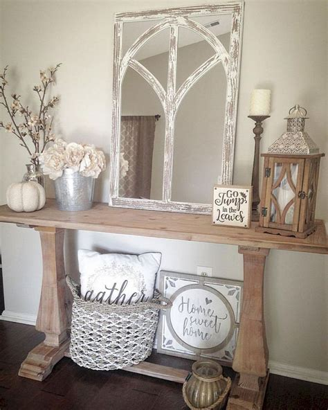 entryway decor ideas  pinterest foyer table