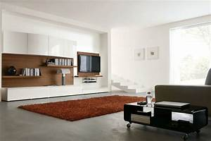 Elegant Living Room Idea with White Wall Paint Color and ...