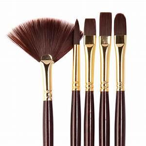 Galeria Long Handle Brush Set - Ken Bromley Art Supplies  Brush