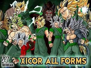 Mugen Dragon Ball Af Gohan Ssj Goku Vs Xicor Tattoo