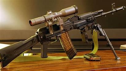 Gun Guns Machine Backgrounds Wallpapers Rifle Cool