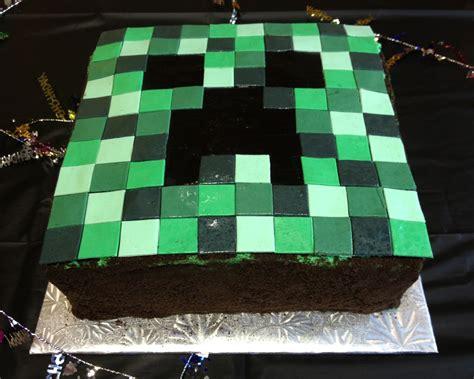 minecraft creeper cake pin coolest minecraft creeper cake 3 cake on