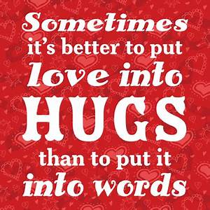 love hug quotes Quotes