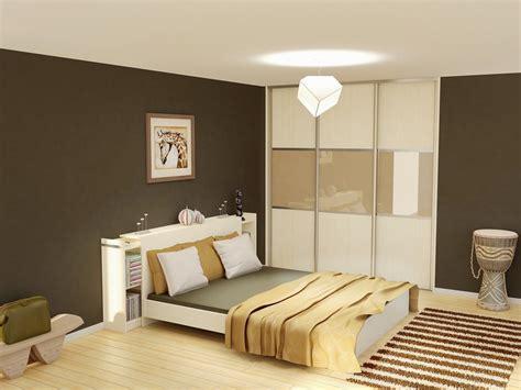 placard de chambre en bois placard chambre coucher porte coulissante placard