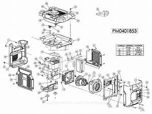 Powermate Formerly Coleman Pc0401853 Parts Diagram For