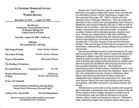 memorial service program template agenda memorial related keywords agenda memorial keywords keywordsking