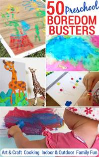 Preschool Boredom Busters 50