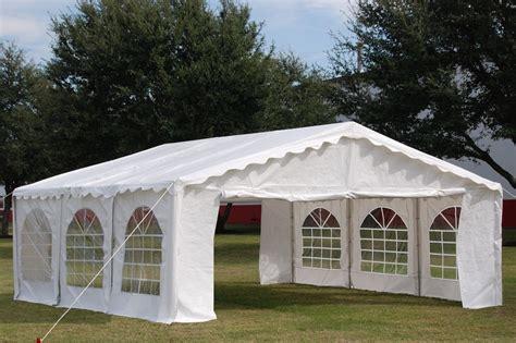budget party tent canopy gazebo white