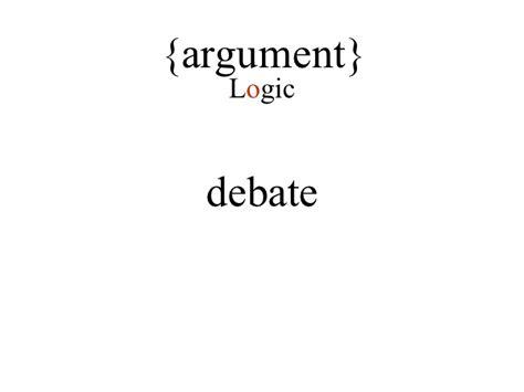 argue lesson why argument