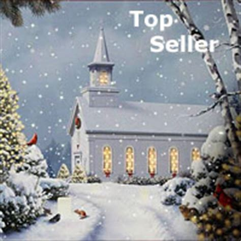 17 inch lighted church scene with colorful rice lights battery operated candles lighted canvas wall