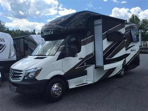 Contact your retailer for full details. Mercedes Benz Coach Siesta RVs for sale