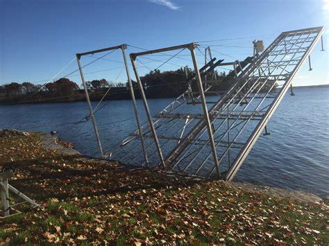 Folding Boat Lift by Aluminum Lift Up Lift Up Step Docks R J Machine