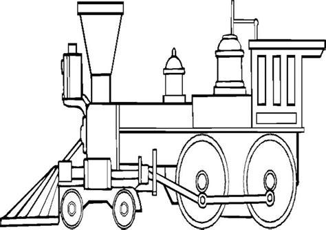 Zug Ausmalbilder 03
