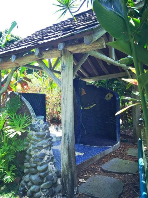 Who Wants An Outdoor Shower In Their Maui Hawaii Home?