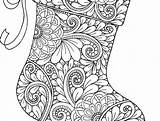 Coloring Fireplace Stocking Printable Colouring Getcolorings Getdrawings sketch template
