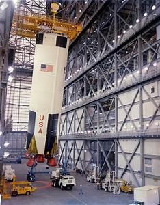 Saturn V Rocket Assembly Line : space