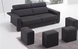 Canapé Avec Pouf : canape avec pouf integre maison design ~ Melissatoandfro.com Idées de Décoration